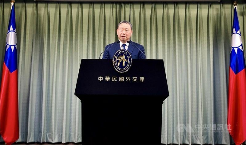 外交部拉美司長俞大㵢23日表示,巴拉圭外交部指中國疫苗廠商以跟台灣斷交作為取得疫苗條件,毫無正當性並有損巴國主權。(中央社檔案照片)