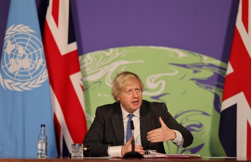 英國首相強生(圖)26日表示,支持為維吾爾族穆斯林發聲而遭到中國制裁的英國國會議員和其他人士。(圖取自facebook.com/borisjohnson)