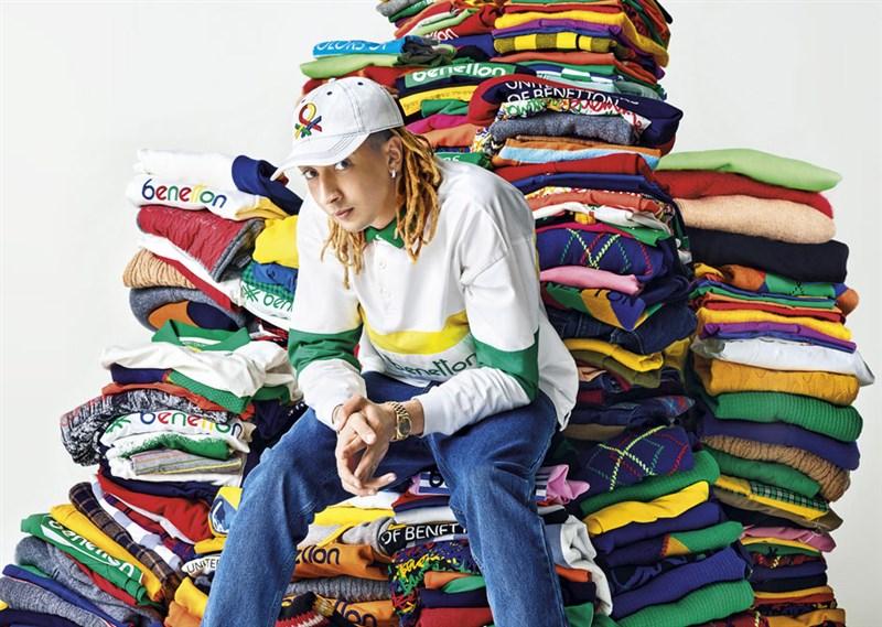中國遭質疑以不人道方式強迫新疆維吾爾人生產棉花,義大利國民品牌班尼頓公告旗下產品將不再使用新疆棉。(圖取自班尼頓網頁www.benettongroup.com)