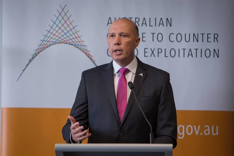 澳中舌戰再起,澳洲國防部長杜登強調,澳洲拒絕將主權讓渡予中國。(圖取自facebook.com/PeterDuttonMP)