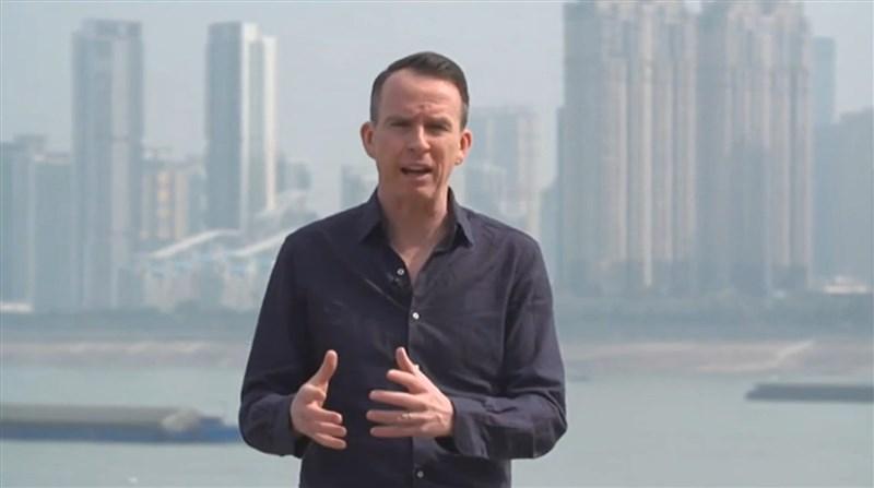 英國廣播公司新聞網表示,原駐中國記者沙磊已調派台灣。(圖取自John Sudworth YouTube頻道網頁youtube.com)