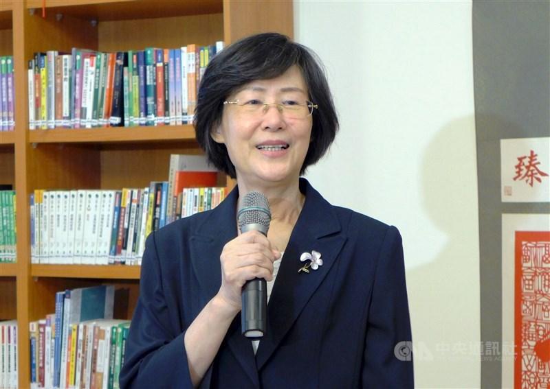 前法務部長、兒福聯盟基金會董事長羅瑩雪3日晚間辭世。(中央社檔案照片)