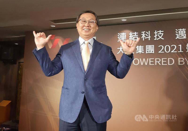 大亞電線電纜公司董事長沈尚弘6日在記者會表示,看好投資太陽能事業約4至5年即可回收。中央社記者潘智義攝 110年4月6日