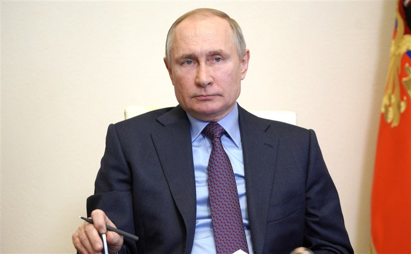 俄羅斯總統蒲亭5日簽署新法,將可讓他再競選兩個6年任期,為掌權至2036年舖路。(圖取自克里姆林宮網頁kremlin.ru)