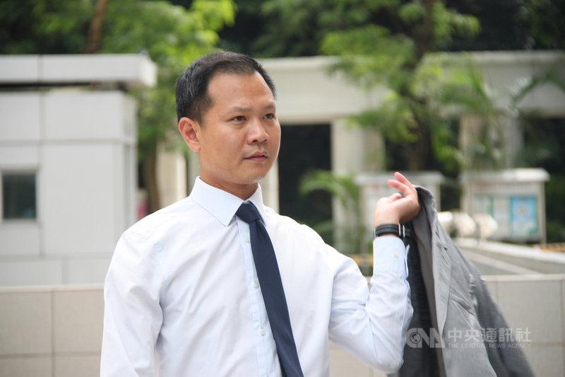 據報導,曾被香港中聯辦點名批評的香港公民黨前立法會議員郭榮鏗(圖)已經離港並身處加拿大,是港區國安法生效後,近期移居海外的知名泛民人士之一。圖為2017年8月間所攝畫面。中央社記者張謙香港攝 110年4月7日