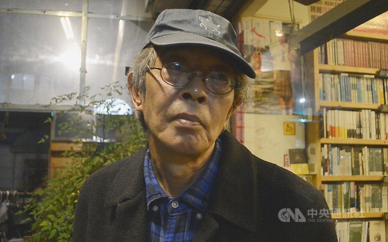 香港壹傳媒集團創辦人黎智英傳出在港認罪,銅鑼灣書店店長林榮基(圖)7日晚間在嘉義市受訪表示,很多人心中都有個底,黎智英認罪不認罪,「香港政府都會給他一個罪名。」中央社記者蔡智明攝  110年4月7日