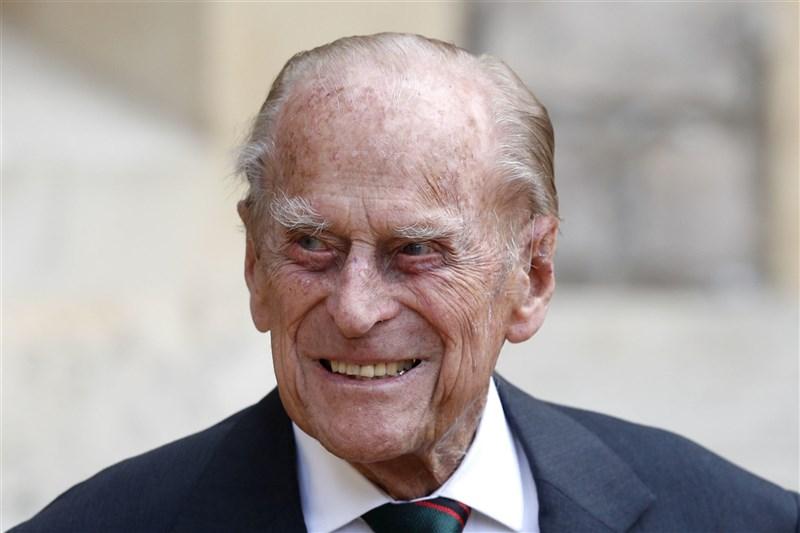 英國女王伊麗莎白二世的夫婿菲立普親王(圖)9日辭世,享耆壽99歲。(美聯社)