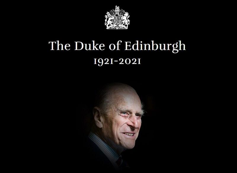 英國菲立普親王逝世,外交部表達誠摯哀悼,並稱菲立普親王的辭世不僅是英國政府及人民的損失,國際社會更失去一位領袖典範。(圖取自白金漢宮網頁royal.uk)
