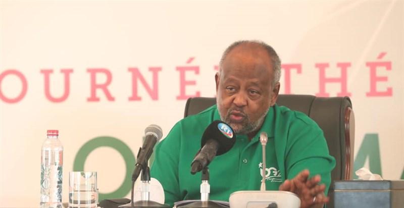 東非國家吉布地9日舉行總統大選,現任總統蓋雷再度連任,贏得第5個任期。(圖取自facebook.com/PAGEOFFICIELLEIOG)