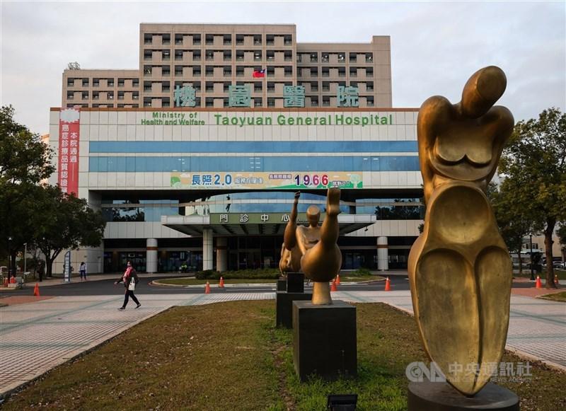 中央流行疫情指揮中心11日宣布新增1例確診病例死亡,為部桃群聚事件的就醫接觸者。(中央社檔案照片)