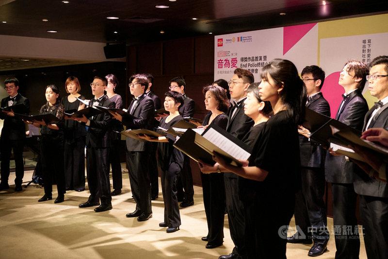 台北室內合唱團將演出「音為愛」Sing for Love合唱詞曲創作比賽得獎作品音樂會,推廣當代合唱創作。(台北室內合唱團提供)中央社記者趙靜瑜傳真  110年4月13日