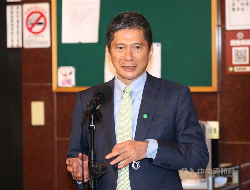 文化部長李永得14日在立法院教委會時表示,華視進駐52台之後仍屬於公共媒體,未來也將備詢受立院監督。中央社記者張皓安攝 110年4月14日