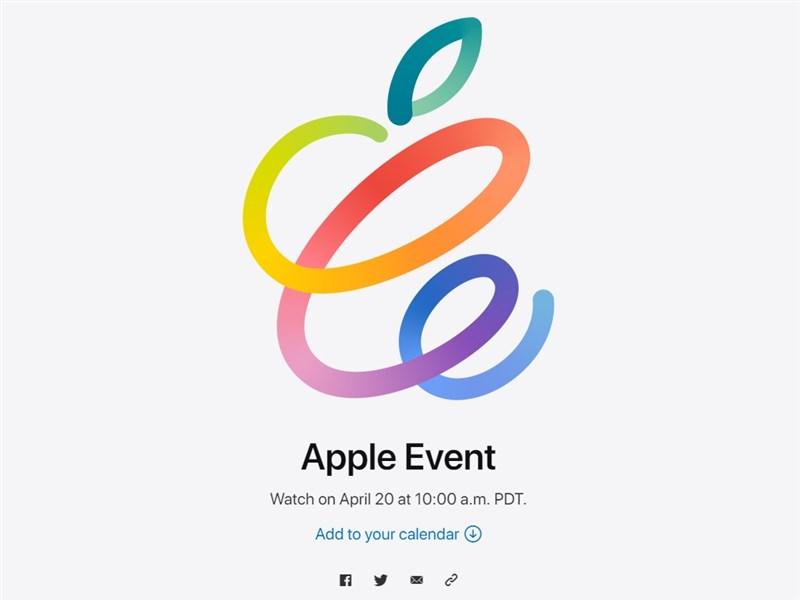 Apple14日發出邀請函宣布,將於台灣時間21日凌晨1時舉辦線上發表會,外界預期可能推出新款iPad或全新配件AirTag。(圖取自蘋果公司網頁apple.com)