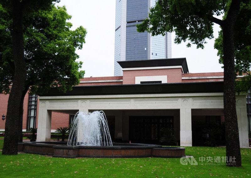 美國氣候特使凱瑞14日訪問中國上海。圖為上海錦江飯店的小禮堂,中美於1972年在此發布「上海公報」,逐步走向雙邊關係正常化。中央社記者沈朋達攝 110年4月14日