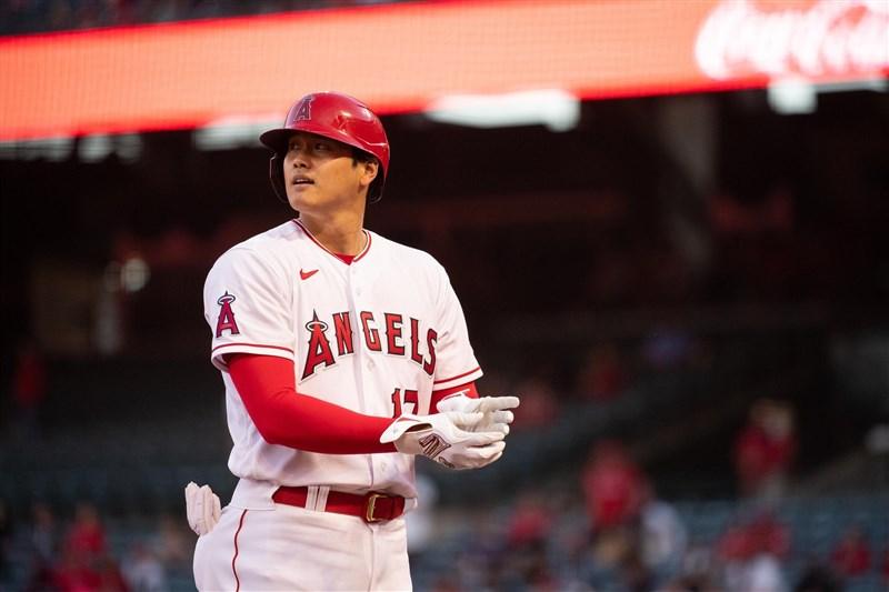 美國職棒大聯盟MLB洛杉磯天使日籍「雙刀流」好手大谷翔平13日先發繳出5打數3安打成績,其中還包括一支陽春砲。(圖取自facebook.com/Angels)
