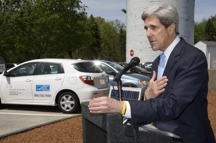 美國氣候變遷特使凱瑞(圖)本週訪問中國,他是拜登政府上任後首位訪問中國的美國高官。(圖取自facebook.com/johnkerry)