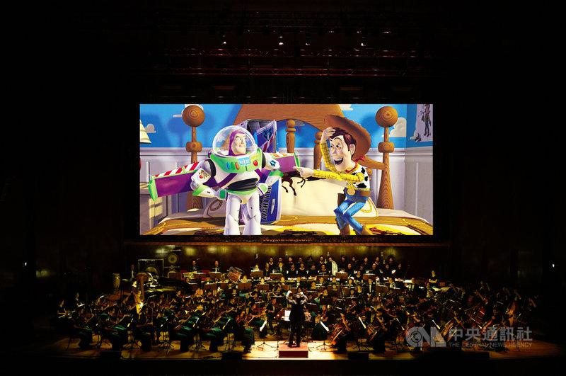 皮克斯動畫「玩具總動員」今年將首度推出電影交響音樂會,5月在台灣進行全球首演,與觀眾一起重溫友誼的溫暖美好。(牛耳藝術提供)中央社記者趙靜瑜傳真  110年4月17日