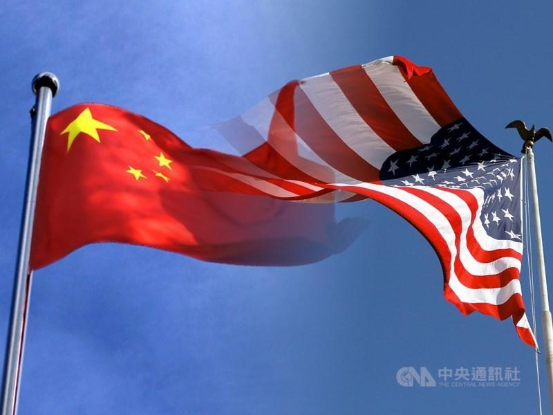 美日峰會後發表聯合聲明,強調台海和平穩定的重要性,並關切新疆與香港問題。中國駐美使館表示,有關言論干涉內政、損害亞太和平穩定。(中央社製圖)