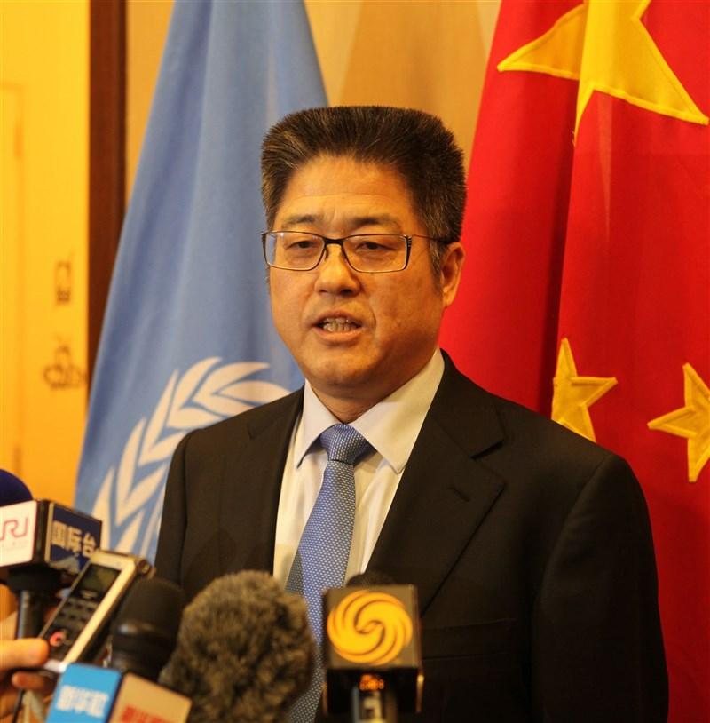 中國外交部副部長樂玉成(圖)16日接受美聯社專訪時稱「兩岸統一是歷史進程」,但未指出任何時間點。(中新社)