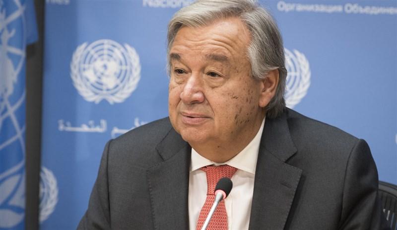 聯合國秘書長古特瑞斯19日公布聯合國世界氣象組織撰寫的2020年全球氣候狀況報告。(圖取自世界氣象組織網頁public.wmo.int)