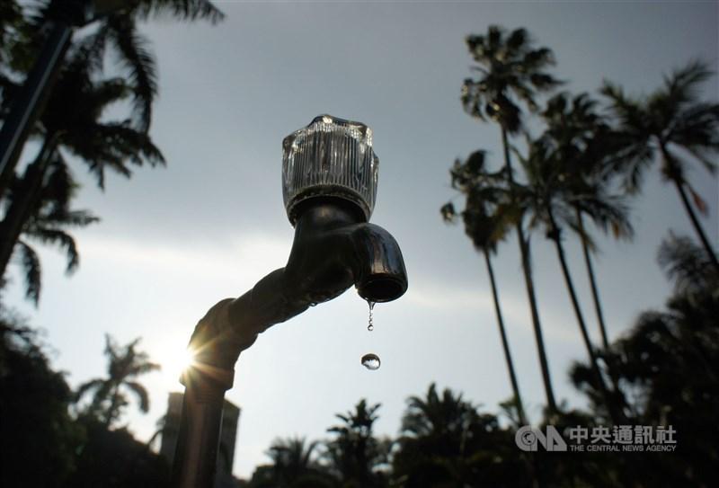 自來水公司公告,20日至22日高雄市包括路竹、旗山、前鎮區等部分區域停水。(中央社檔案照片)