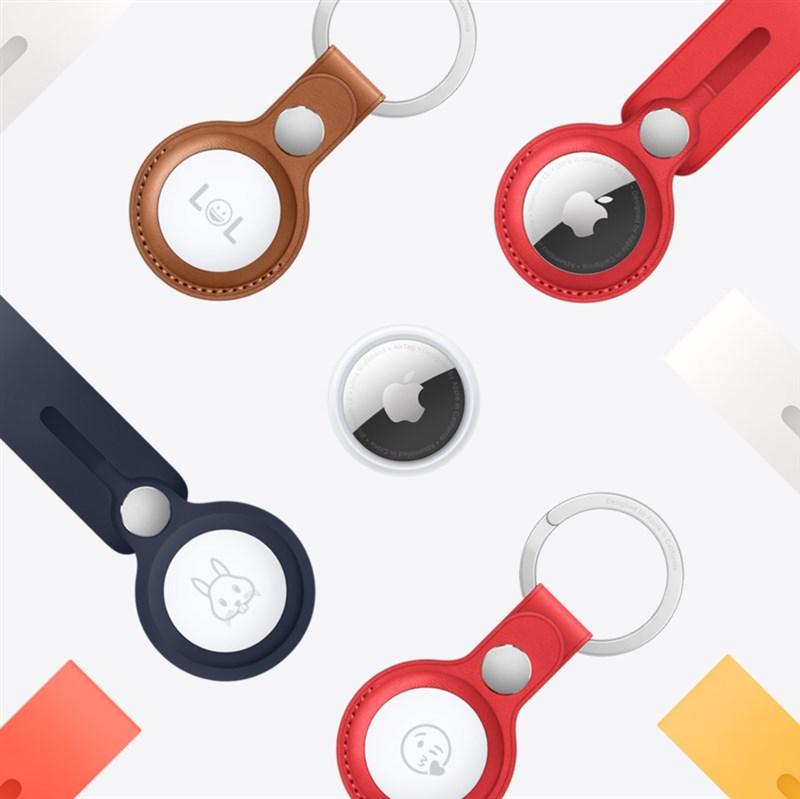 蘋果發表會台灣時間21日登場,傳聞已久的藍牙追蹤器AirTag終於正式亮相。(圖取自Apple網頁apple.com)