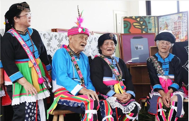 阿美族Macacadaay(複音吟唱)被文化部登陸為國家重要傳統表演藝術,保存者杵音文化藝術團被譽為「人間國寶」。(取自文化部文資局網頁)中央社記者盧太城台東傳真 110年4月21日