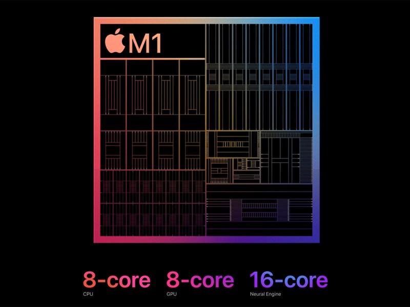 蘋果發表會推出搭載自家晶片M1的平板電腦與桌上型電腦,代工廠台積電可望受惠。(圖取自蘋果網頁apple.com)