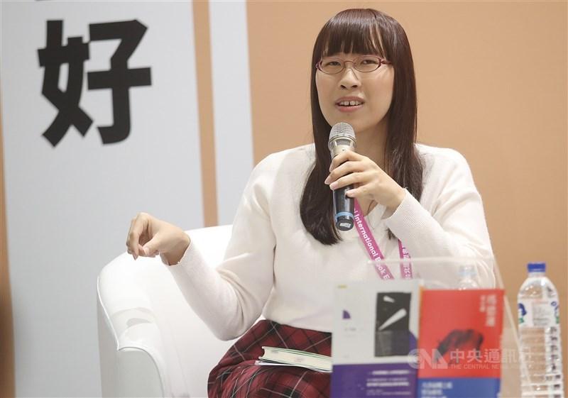 台灣旅日作家李琴峰以新作「彼岸花盛開之島」入圍第34屆三島由紀夫獎。(中央社檔案照片)