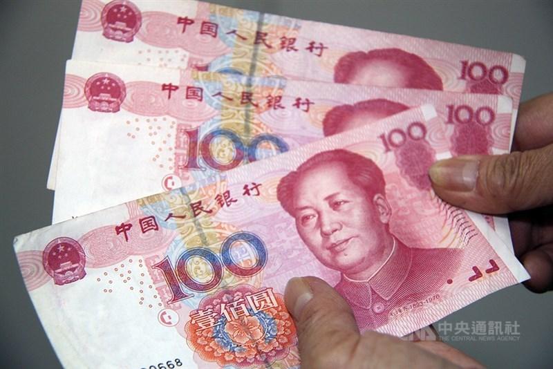 中國個人債近年激增引發外界關注。綜合媒體報導,過去5年來,中國居民負債率增速居全球最快的國家之一,而中國居民的銀行卡債務已超過美國。(中央社檔案照片)