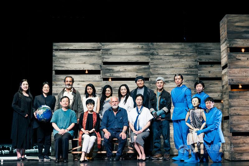 台中國家歌劇院與台北表演藝術中心聯手改編打造作家吳明益長篇小說「複眼人」劇場版,24日將於台中首演,22日在台中國家歌劇院舉行彩排記者會。(台中國家歌劇院提供)中央社記者郝雪卿傳真 110年4月22日