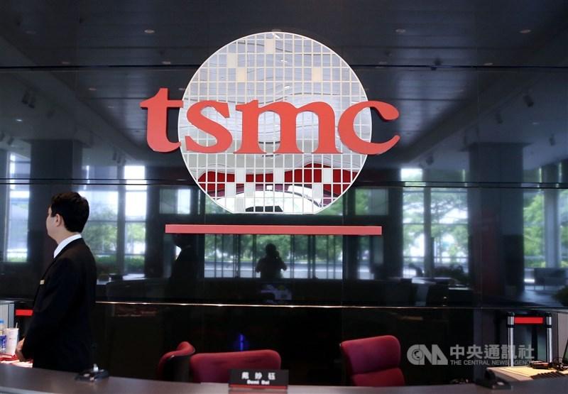 經濟部22日晚間發布聲明指出,台積電長期以台灣為中心深度布局,目前台積電整體產能分布,在台灣占比達9成。(中央社檔案照片)