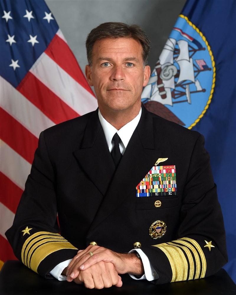 阿基里諾(圖)將成為新任美軍印太司令部司令,他曾在參議院提名聽證會上憂心表示,中國併吞台灣的威脅「比許多人理解地更加迫在眉睫」。(圖取自美國太平洋艦隊司令部網頁cpf.navy.mil)