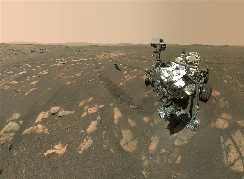 美國國家航空暨太空總署(NASA)21日表示,「毅力號」成功將火星大氣的二氧化碳轉化成氧,是第一次在另一個行星造氧成功。(圖取自NASA網頁www.nasa.gov)