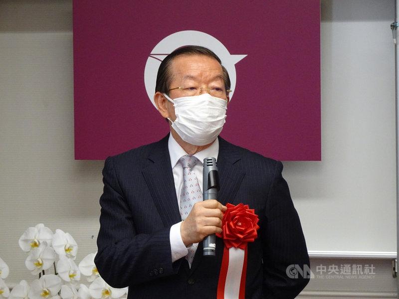 駐日代表謝長廷指台灣核電廠也排放含氚核廢水入海引發爭議,國民黨團要求返台備詢。正在鹿兒島縣訪問的謝長廷表示,如果立法院來公文,他一定會回去備詢。中央社記者楊明珠鹿兒島攝  110年4月26日