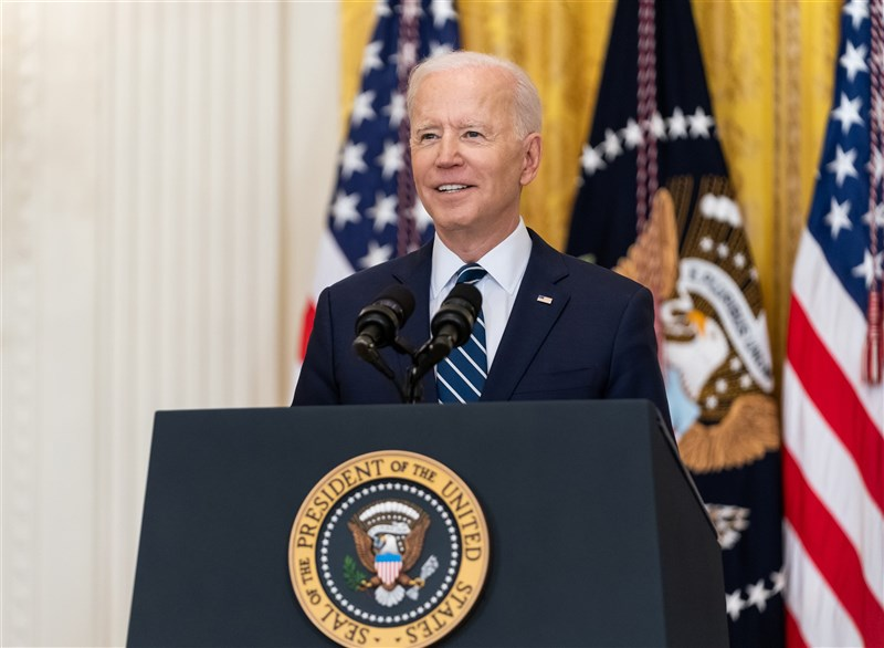 美國總統拜登28日晚間將發表國會聯席演說。拜登將訴求美國再次動起來,化險為夷。(圖取自Flickr,版權屬公眾領域)