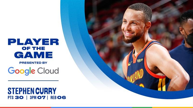 靠著攻守兩端的精采表現,包括柯瑞全場30分、第3節單節23分的瘋狂演出,美國職籃NBA金州勇士1日以113比87大勝休士頓火箭。(圖取自twitter.com/warriors)