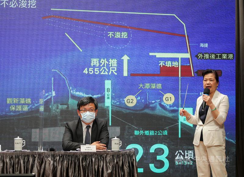 三接外推方案王美花:對短期電力調度有影響  政治  中央社CNA