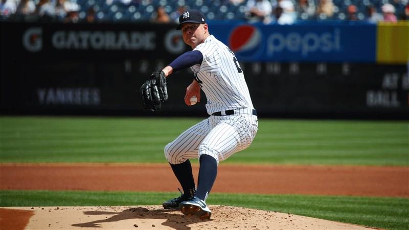 MLB洋基先發投手克魯柏先發8局賞給對手10次三振一分未失,讓洋基2比0「完封」老虎。(圖取自twitter.com/Yankees)