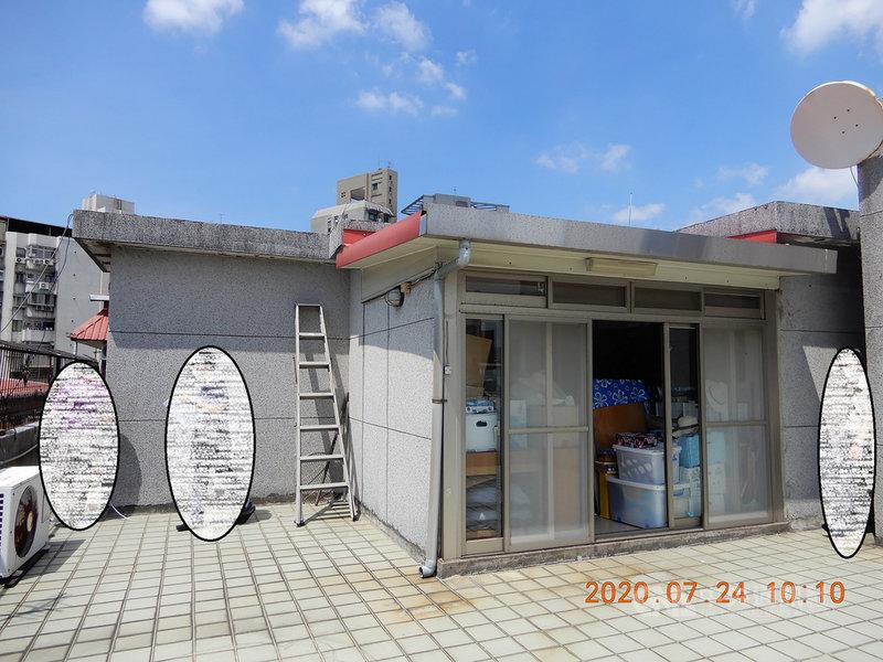 行政執行署台北分署表示,已故軍火商汪傳浦位於台北市金門街的房產,為面積74餘坪(含頂樓增建部分)的公寓6樓,首次拍賣無人投標,4日進行第2次拍賣,以高於底價近新台幣200萬元的3201萬元賣出。(行政執行署台北分署提供)中央社記者蕭博文傳真  110年5月4日