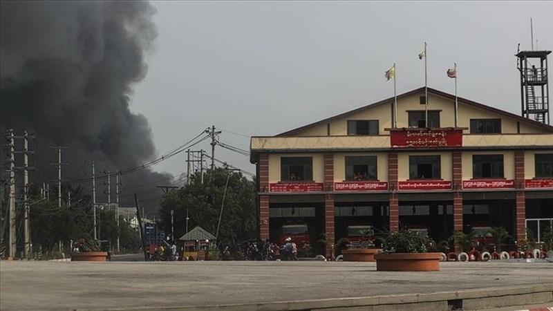 緬甸中南部一村莊3日發生郵包炸彈爆炸案,造成至少5人死亡,包含1名國會議員。(安納杜魯新聞社)