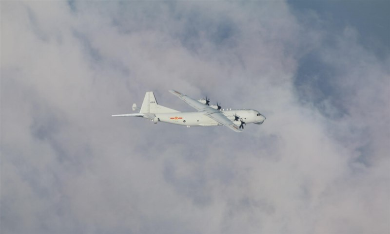 根據空軍4日發布的共機動態,1架運8反潛機下午侵擾台灣西南防空識別區。圖為運8反潛機同型機。(圖取自國防部網頁mnd.gov.tw)