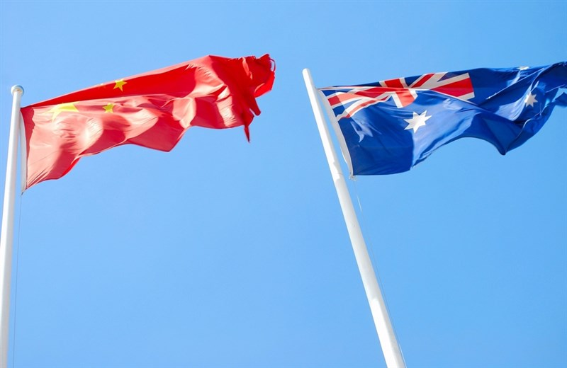 「澳洲金融時報」發表社論表示,假如台海發生戰爭,澳洲或需履行「美澳紐防衛公約」支援美國協防台灣。(圖取自澳洲政府網頁gov.au)