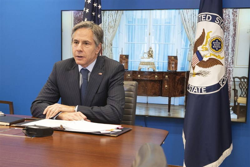 美國國務卿布林肯(圖)日前發表聲明,呼籲恢復台灣在WHA的適當地位。華爾街日報社評寫道,布林肯在聲明中「正確點出」台灣在因應全球衛生挑戰上能提供寶貴貢獻與經驗。(圖取自twitter.com/SecBlinken)