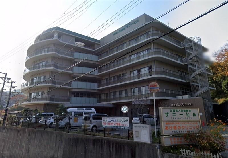 日本神戶市長田區大日丘町一家老人保健設施「陽光山丘」發生群聚感染,4月14日以來共有133人確診2019冠狀病毒疾病。(圖取自Google地圖網頁google.com/maps)