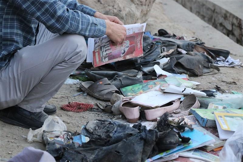 阿富汗首都喀布爾一所學校外8日發生爆炸,官員表示死亡人數已增至58人,醫生正在努力救治至少150名傷者。(安納杜魯新聞社)