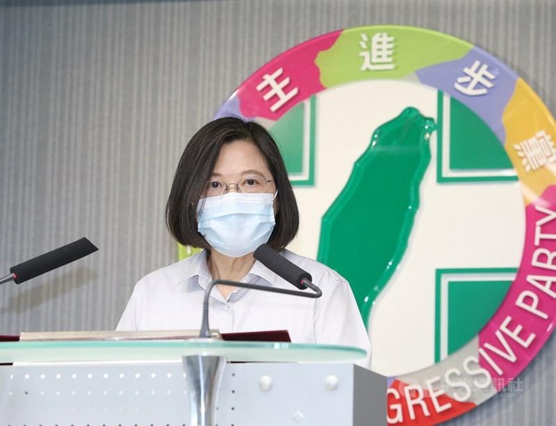 國內出現感染源不明本土病例,民進黨11日說,以防疫為優先,原訂16日舉辦「台灣政進步,向您報進度」施政說明會首發場會暫緩舉行。(中央社檔案照片)