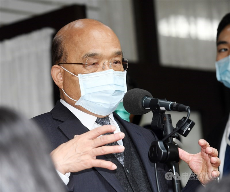行政院官員表示,行政院長蘇貞昌11日已經同意促進轉型正義委員會延任案,支持促轉會延任一年。(中央社檔案照片)