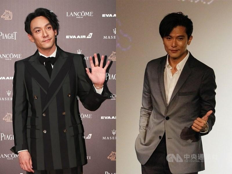 第23屆台北電影節公布雙競賽入選名單,影帝將由張震(左)、邱澤(右)角逐。(中央社檔案照片)