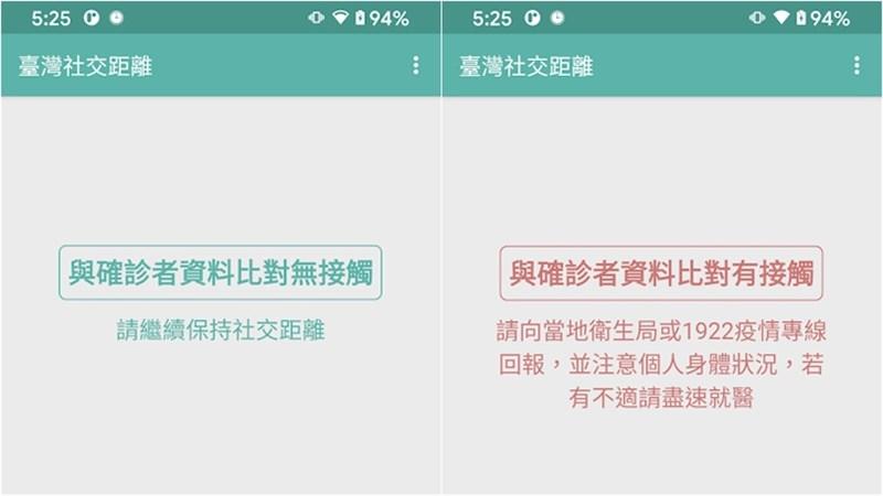 近日接連發生不明源的社區感染群聚案例,「台灣社交距離」App會掃描是否與確診者接觸還會發送通知,被網友熱推為防疫保命符。(圖取自Google play網頁play.google.com)